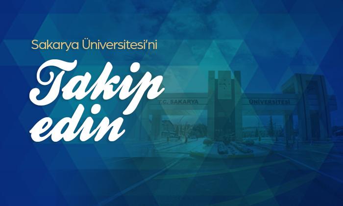 Sakarya Üniversitesi (SAÜ) Kurumsal Sosyal Medya Hesaplarımız
